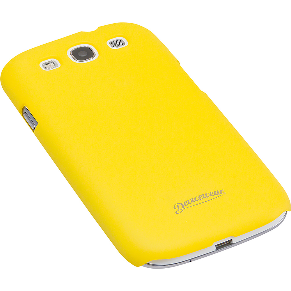 Devicewear Metro: Samsung Galaxy S III Case (For All Galaxy S3 Phones from AT & T,  T-Mobile,  Sprint,  Verizon,  or Unlocked) Yellow - Devicewear Electronic Cases