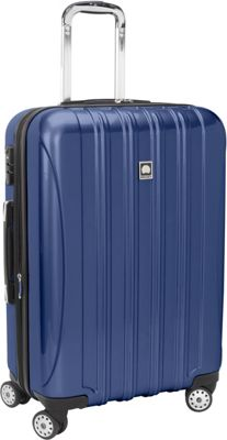 Delsey Helium Aero Carry-On Expandable Spinner Trolley - 20.5 inch Colbalt Blue - Delsey Hardside Carry-On