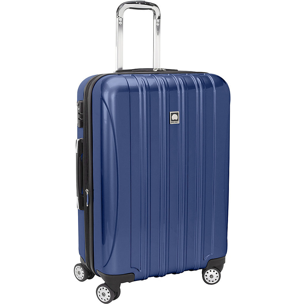 "Delsey Helium Aero Carry-On Expandable Spinner Trolley - 20.5"" Colbalt Blue - Delsey Hardside Carry-On"