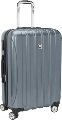Delsey Helium Aero Carry-On Expandable Spinner Trolley - 20.5 inch Titanium - Delsey Hardside Carry-On