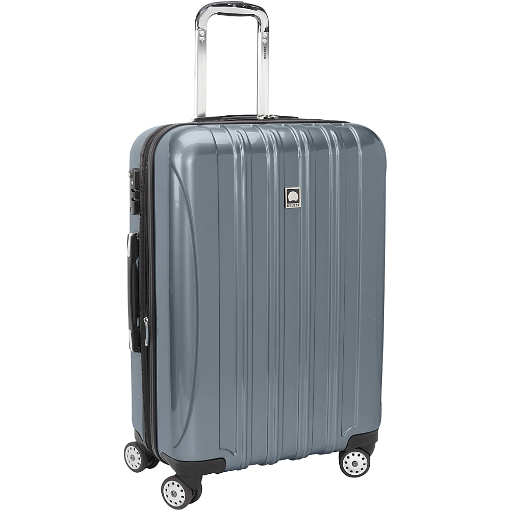 "Delsey Helium Aero Carry-On Expandable Spinner Trolley - 20.5"" Titanium - Delsey Hardside Carry-On"