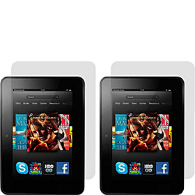 "4 Pk Screen Protectors for Kindle Fire HD 7"" AGHD"