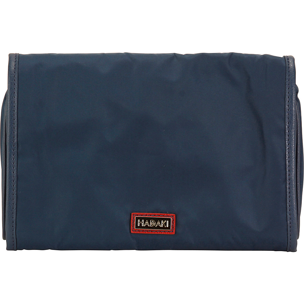 Hadaki Nylon Toiletry Pod Roll-up Blue - Hadaki Toiletry Kits - Travel Accessories, Toiletry Kits