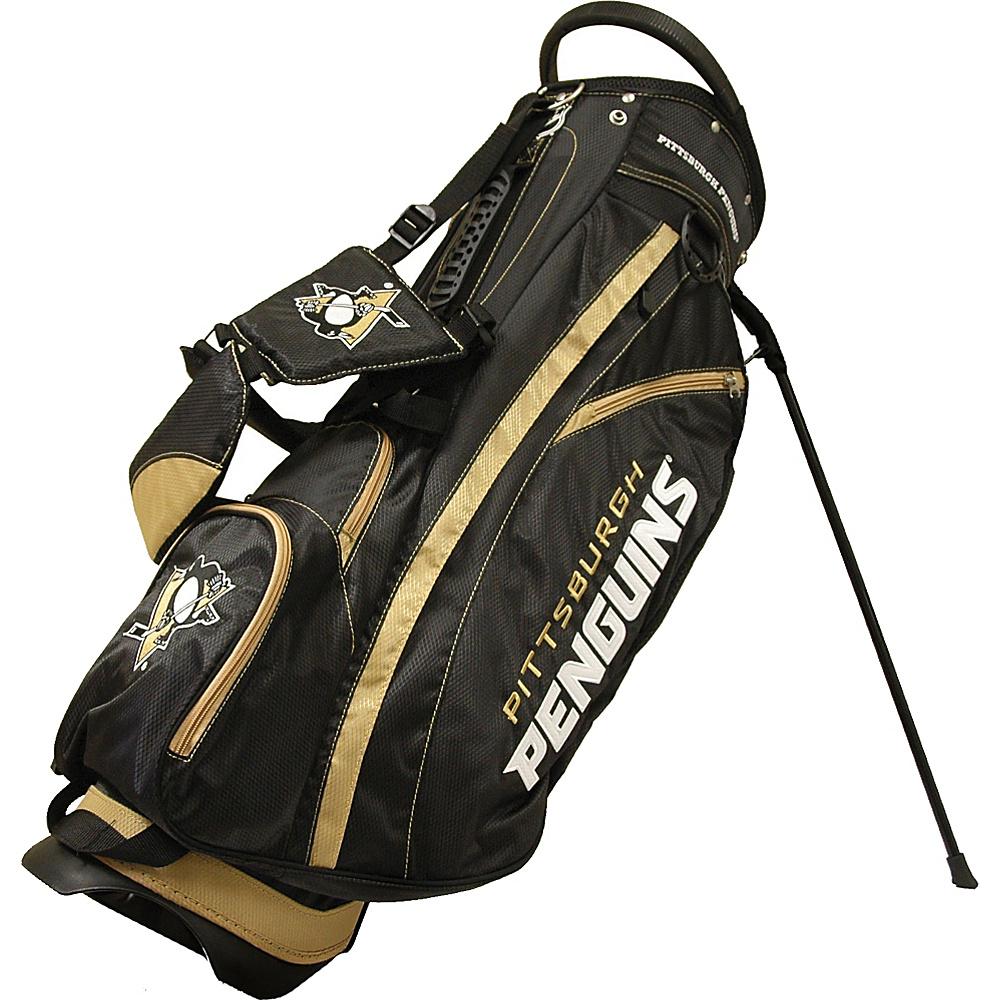 Team Golf USA NHL Pittsburgh Penguins Fairway Stand Bag Black - Team Golf USA Golf Bags