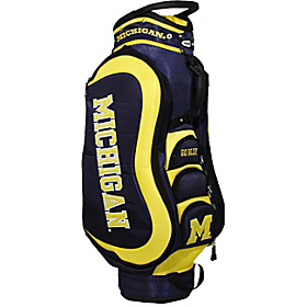 NCAA University of Michigan Wolverines Medalist Cart Bag Blue