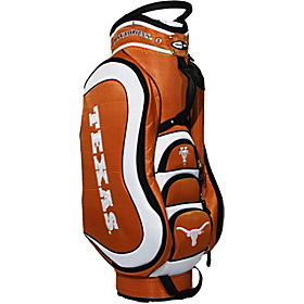 NCAA University of Texas Longhorns Medalist Cart Bag Orange