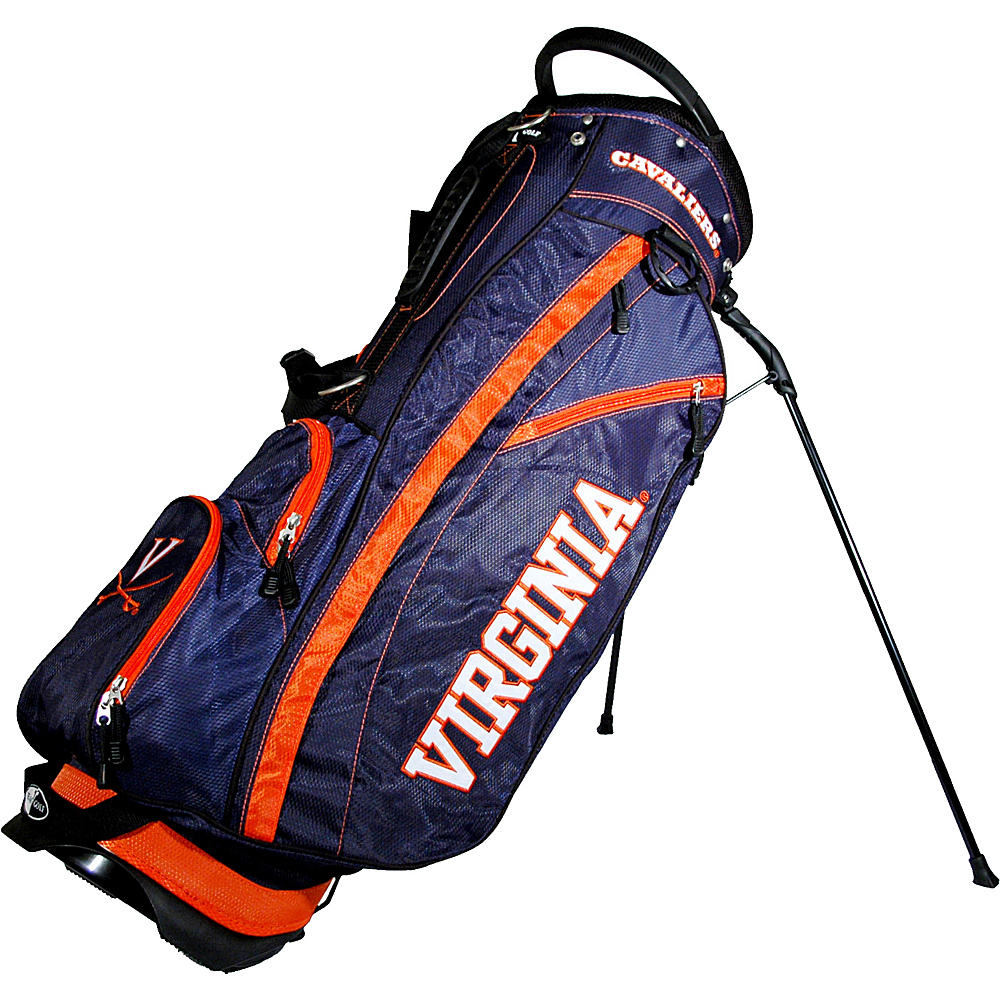 Team Golf USA NCAA University of Virginia Cavaliers Fairway Stand Bag Blue - Team Golf USA Golf Bags