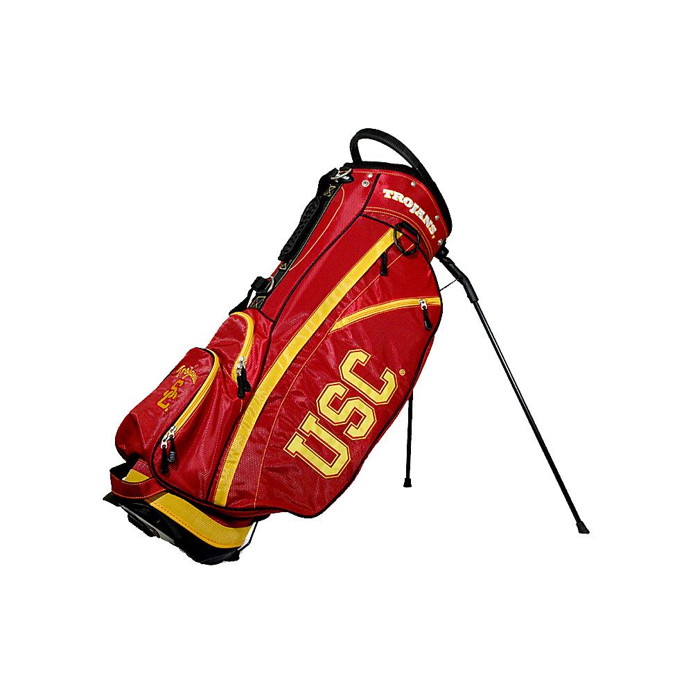 Team Golf USA NCAA University of Southern California USC Trojans Fairway Stand Bag Red - Team Golf USA Golf Bags