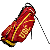 Team Golf NCAA University of Southern California USC Trojans Fairway Stand Bag Red - Team Golf Golf Bags