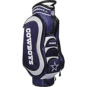NFL Dallas Cowboys Medalist Cart Bag Blue