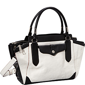 Wes MAB Mini Satchel White/Black
