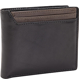 RFID Black Ops I.D. Convertible Thinfold Wallet Black