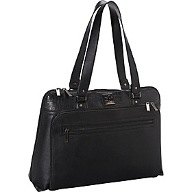 Zip Around 16'' Laptop / iPad Tote Black