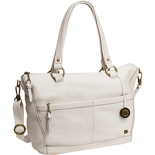 The Sak Iris Satchel Linen - The Sak Leather Handbags