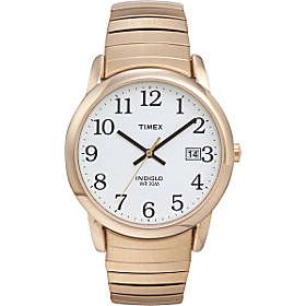 Men's Easy Reader Watch Gold tone