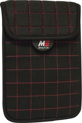 Mobile Edge NeoGrid Sleeve for 7 inch Tablets/E-Readers/iPad mini Black/Red - Mobile Edge Electronic Cases