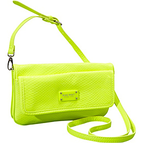 Can't Stop Shopper Small Zipper Cross Body Citron/Citron