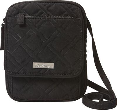 Vera Bradley Mini Hipster Crossbody - Solids Black - Vera Bradley Fabric Handbags