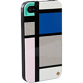Mondrian Resin iPhone 4/4S Case Multi