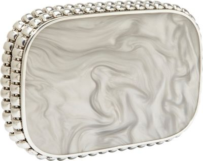 Overture by Judith Leiber Cassandra Marbel Resin Minaudiere