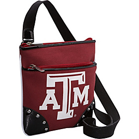 Texas A&M University Cross Body Side Bag Red