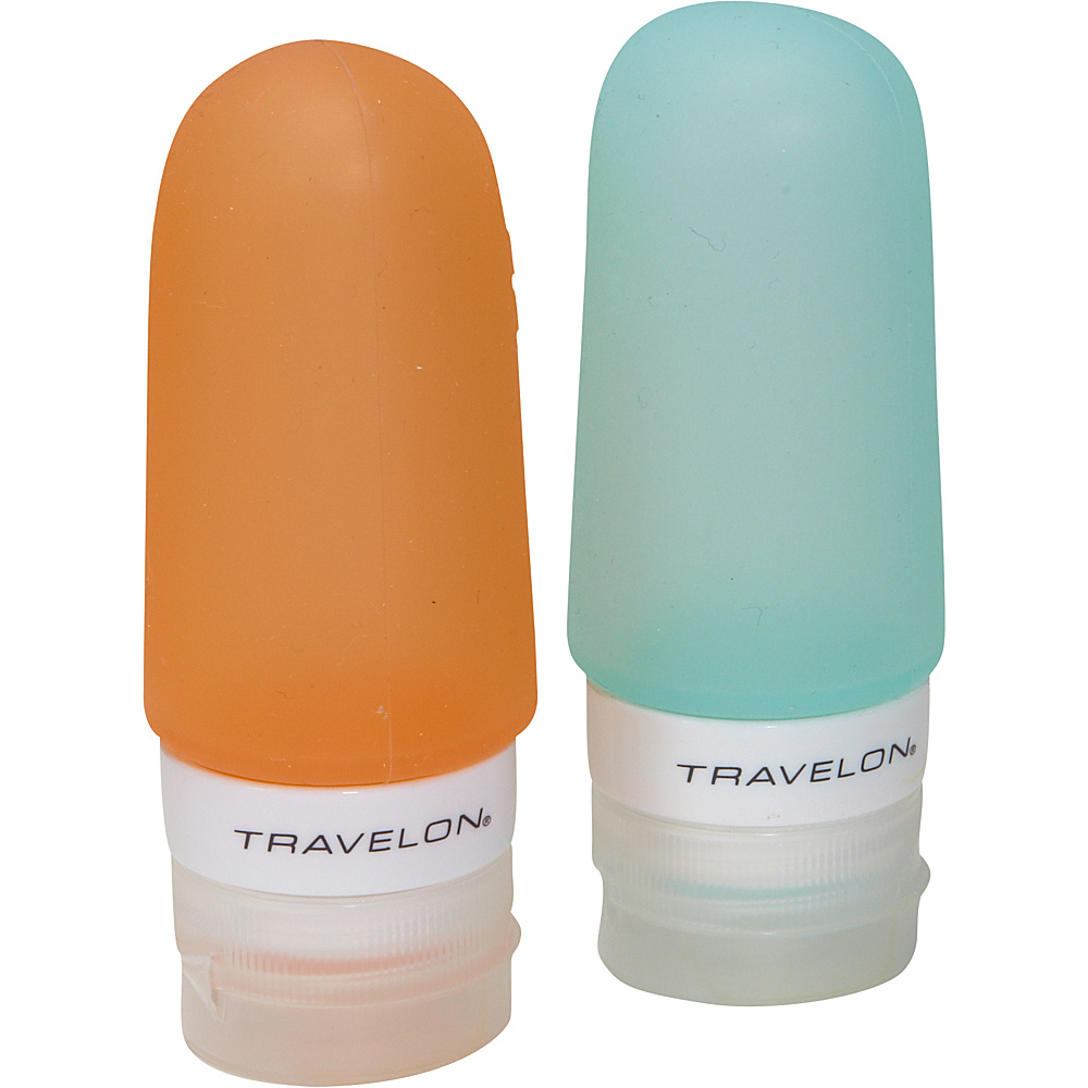 Travelon Smart Tubes Set of 2  2oz. Orange/Blue - Travelon Toiletry Kits - Travel Accessories, Toiletry Kits