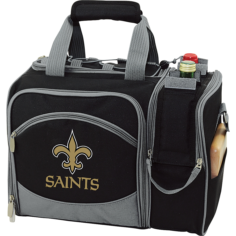 Picnic Time New Orleans Malibu Insulated Picnic Pack New Orleans Saints - Picnic Time Outdoor Coolers - Outdoor, Outdoor Coolers