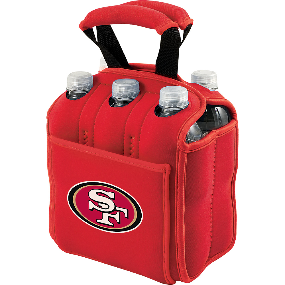 Picnic Time San Francisco 49ers Six Pack San Francisco 49ers Red - Picnic Time Outdoor Accessories - Outdoor, Outdoor Accessories