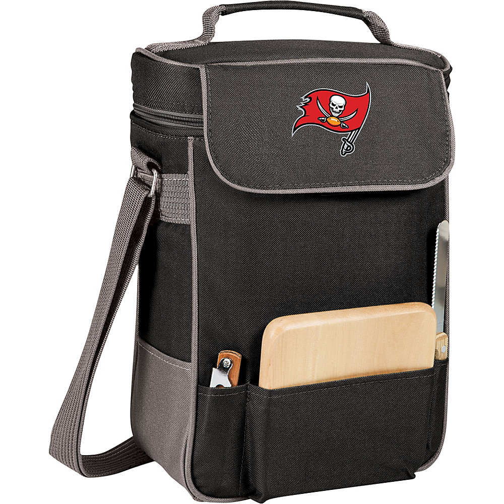 Picnic Time Tampa Bay Buccaneers Duet Wine & Cheese Tote Tampa Bay Buccaneers - Picnic Time Outdoor Coolers - Outdoor, Outdoor Coolers