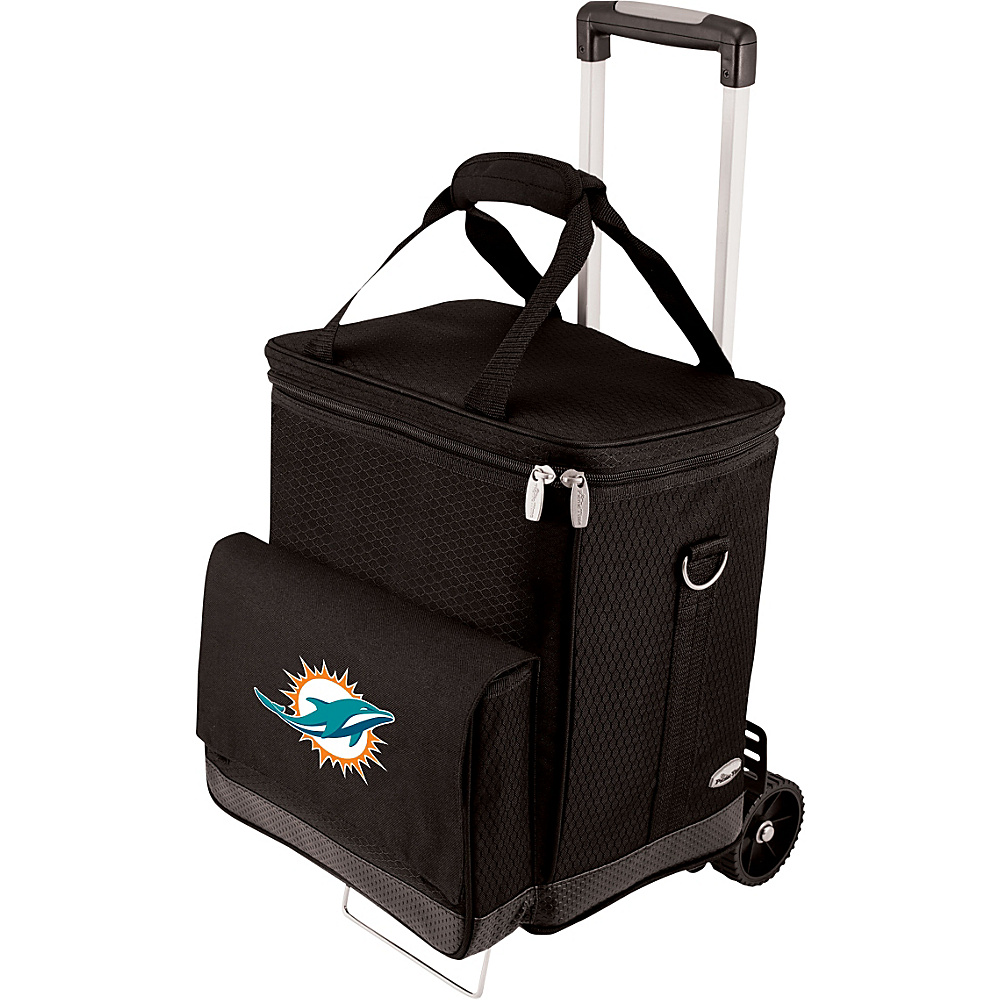 Picnic Time Miami Dolphins Cellar w/Trolley Miami Dolphins - Picnic Time Outdoor Coolers - Outdoor, Outdoor Coolers