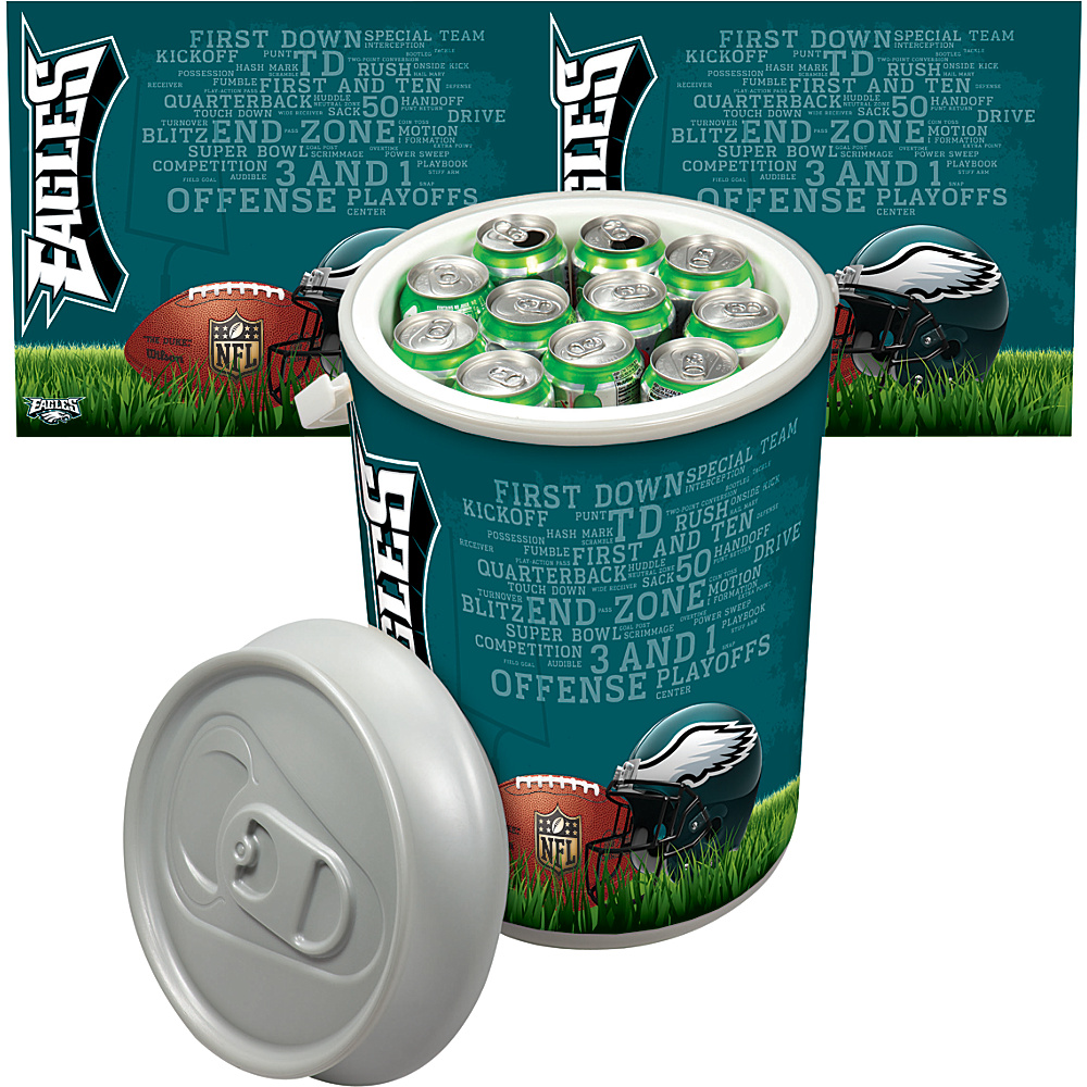 Picnic Time Philadelphia Eagles Mega Can Cooler Philadelphia Eagles - Picnic Time Outdoor Coolers - Outdoor, Outdoor Coolers