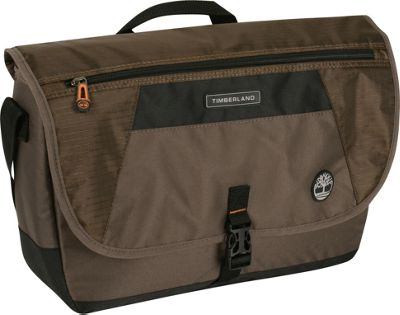 Timberland Rt 4 17 inch Messenger Bag Cocoa - Timberland Messenger Bags
