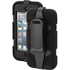 iPod Touch 5g Survivor Case Black/Black/Black