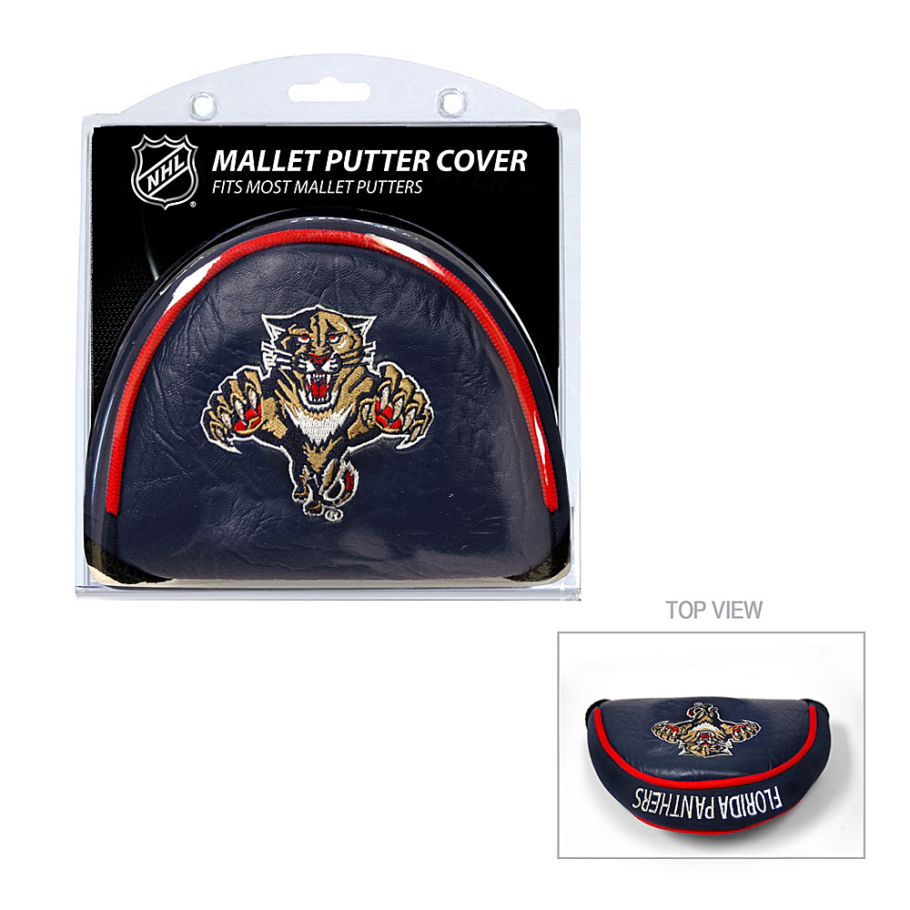 Team Golf USA Florida Panthers Mallet Putter Cover Team Color - Team Golf USA Golf Bags