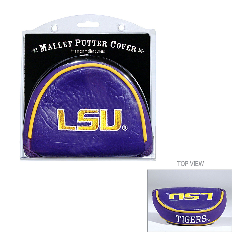 Team Golf USA Louisiana State University (LSU) Tigers Mallet Putter Cover Team Color - Team Golf USA Golf Bags