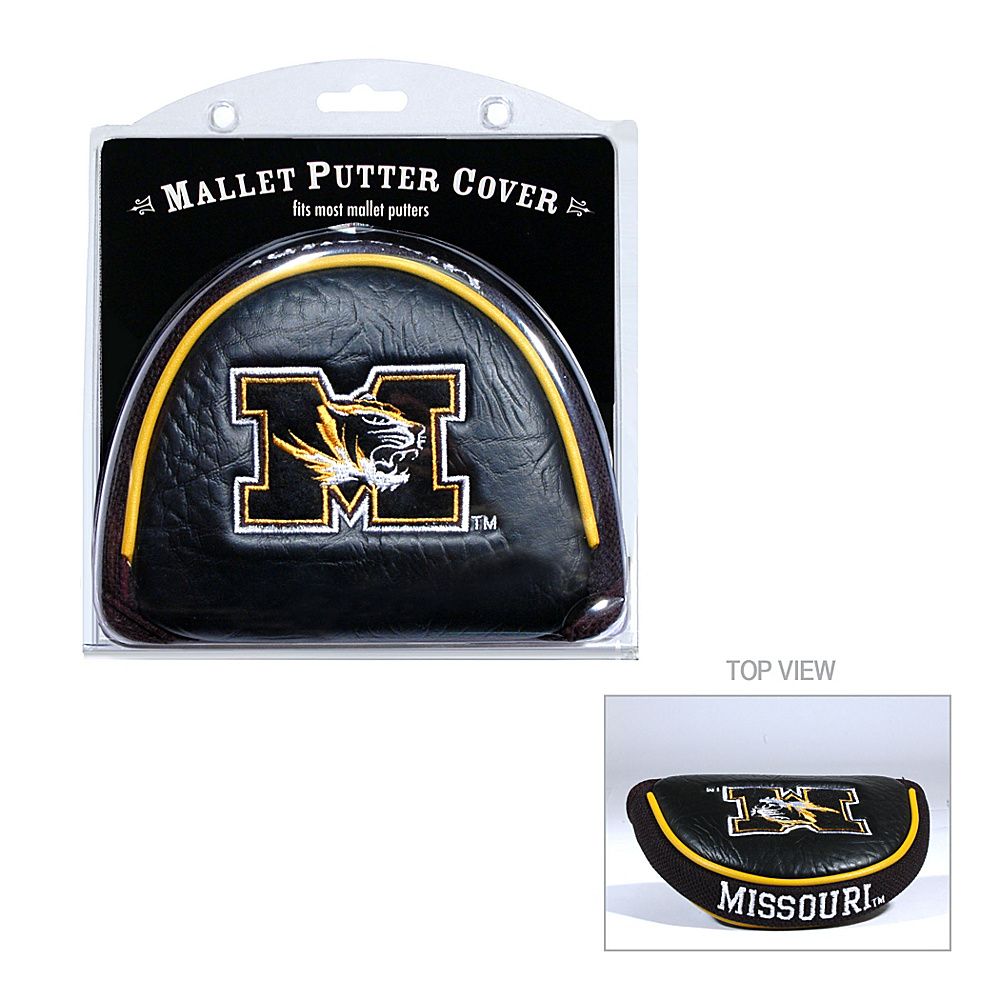 Team Golf USA University of Missouri Tigers Mallet Putter Cover Team Color - Team Golf USA Golf Bags