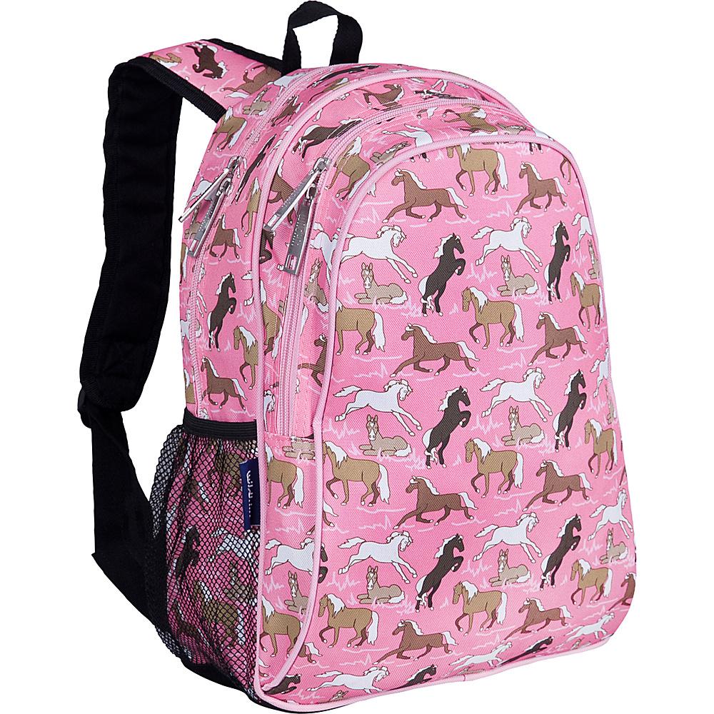 Wildkin Horses in Pink Sidekick Backpack - Horses in - Backpacks, Kids' Backpacks