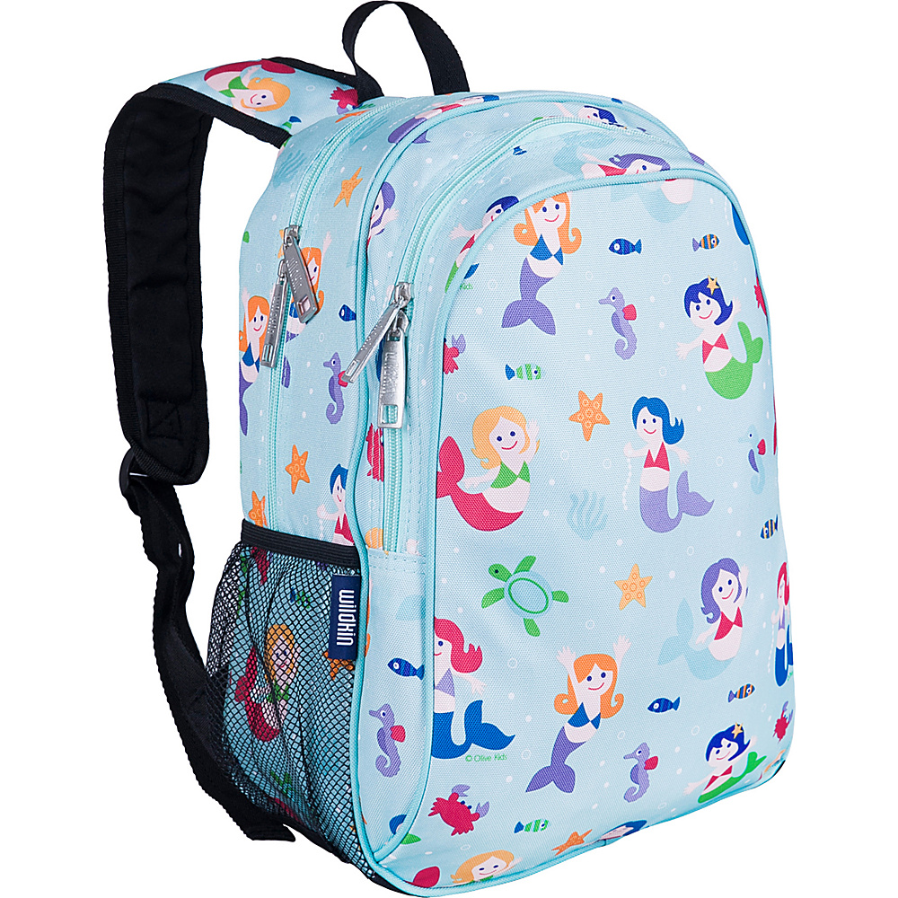 Wildkin Mermaids Sidekick Backpack - Olive Kids