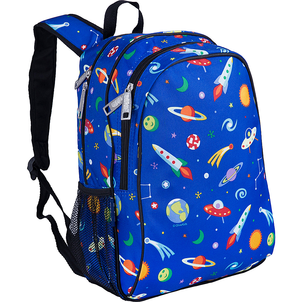 Wildkin Out of This World Sidekick Backpack - Olive - Backpacks, Kids' Backpacks