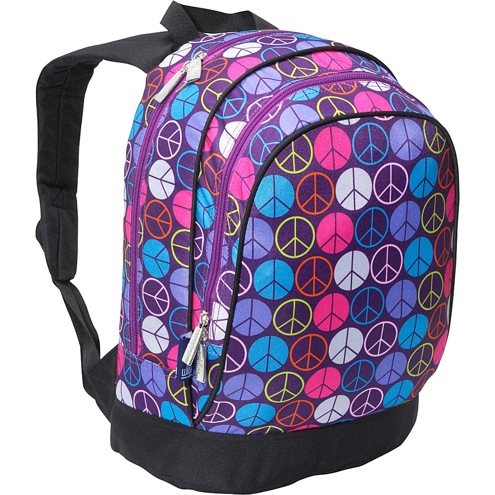 Wildkin Peace Signs Purple Sidekick Backpack - Peace - Backpacks, Kids' Backpacks