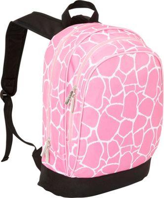 Wildkin Kids 15 Inch Backpack Pink Giraffe - Wildkin Kids' Backpacks