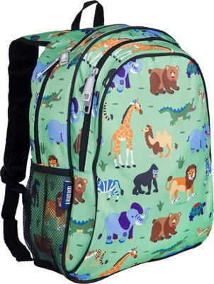 Wildkin Wild Animals Sidekick Backpack - Wild Animals