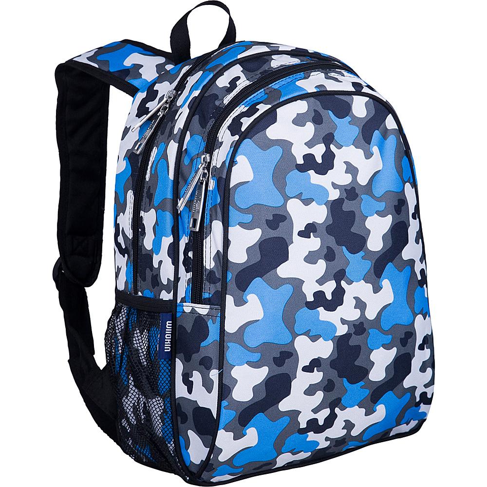 Wildkin Blue Camo Sidekick Backpack - Blue Camo - Backpacks, Kids' Backpacks