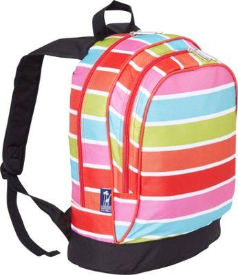 Wildkin Sidekick Backpack Bright Stripes - Wildkin Kids' Backpacks