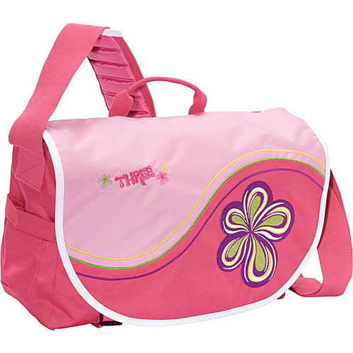 Three Three Dancing Flower New Messenger Pink - Three Women's Messenger Bags