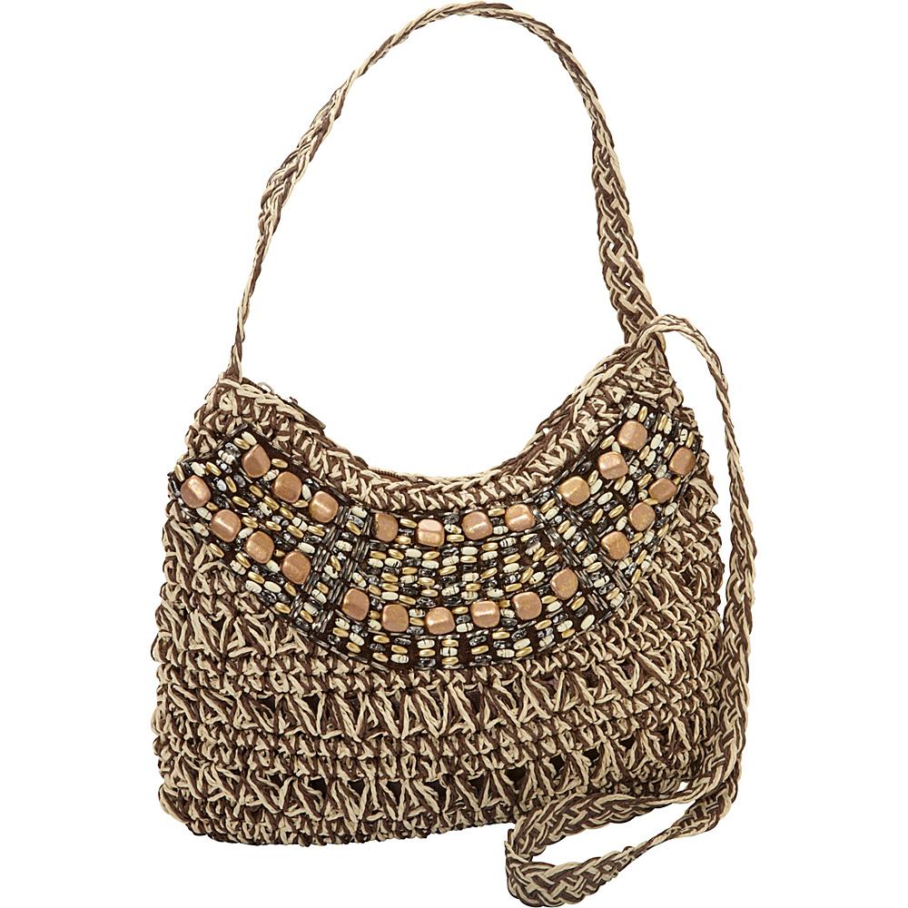Sun N Sand Luna Sea Brown - Sun N Sand Straw Handbags - Handbags, Straw Handbags