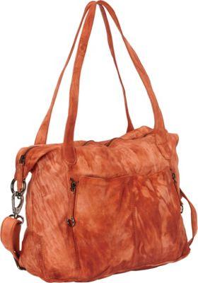 Latico Leathers Jenna Shoulder Bag Orange - Latico Leathers Leather Handbags