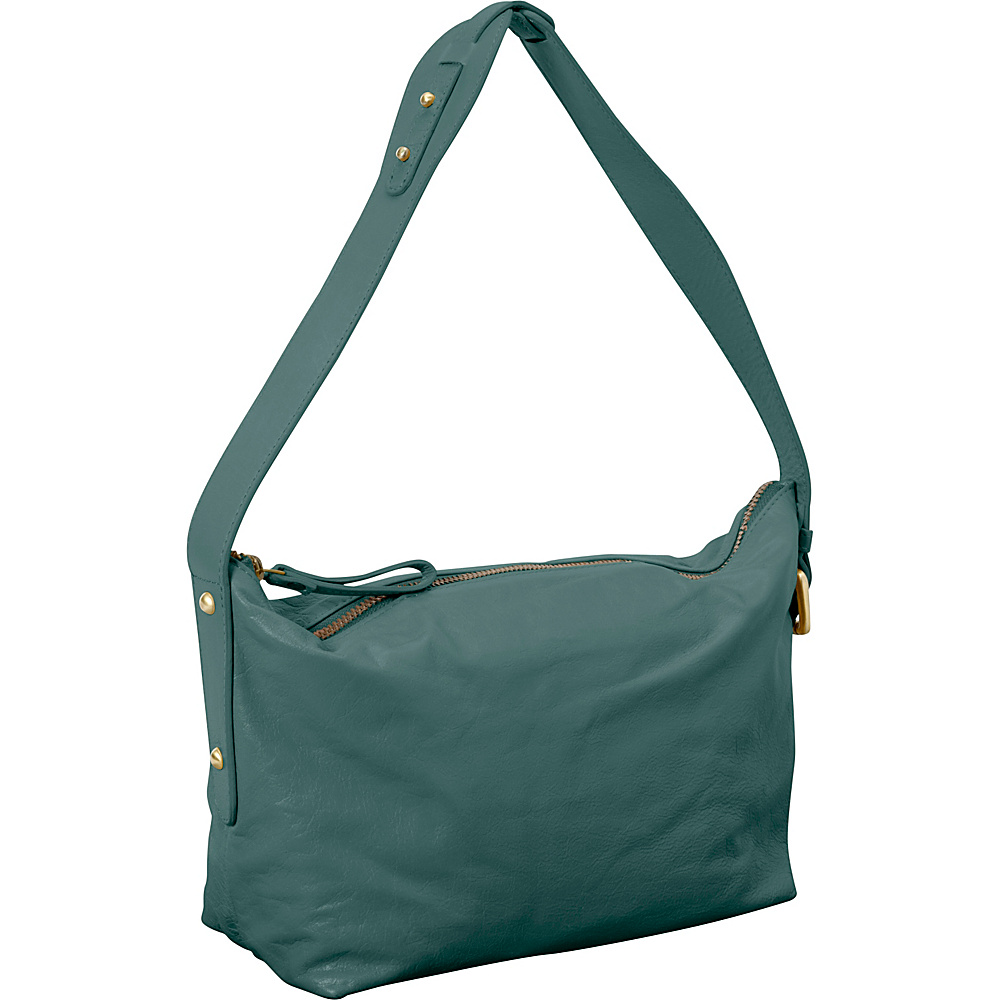 Latico Leathers Tory Shoulder Bag Sea Green - Latico Leathers Leather Handbags - Handbags, Leather Handbags