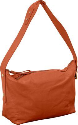 Latico Leathers Tory Shoulder Bag Salmon - Latico Leathers Leather Handbags