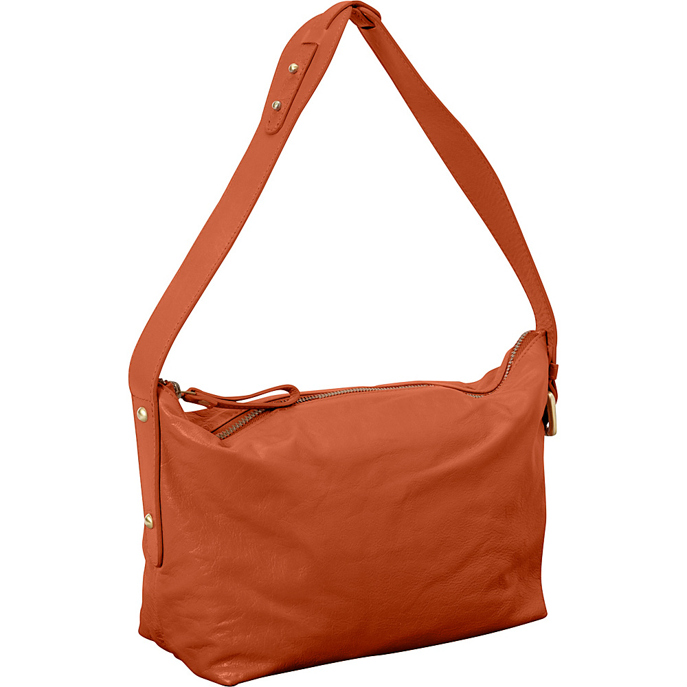 Latico Leathers Tory Shoulder Bag Salmon - Latico Leathers Leather Handbags
